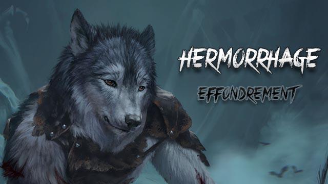 Hermorrhage - T4 - Effondrement - Roman loup garou